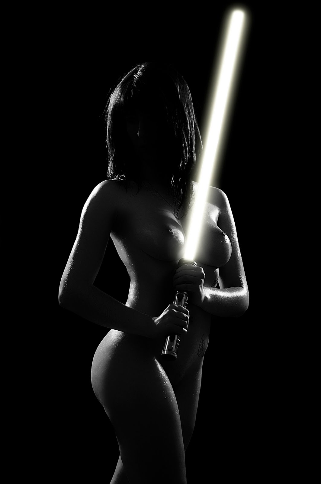 Hot jedi naked anime scene