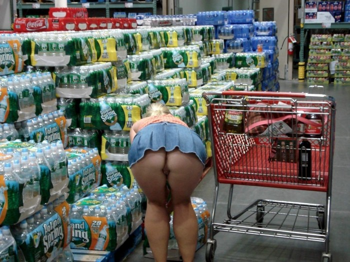 shopping with a blonde for water.jpg