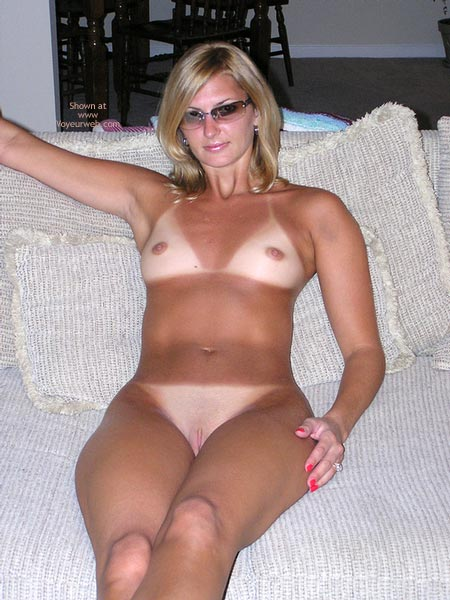 Milf tan lines charming message