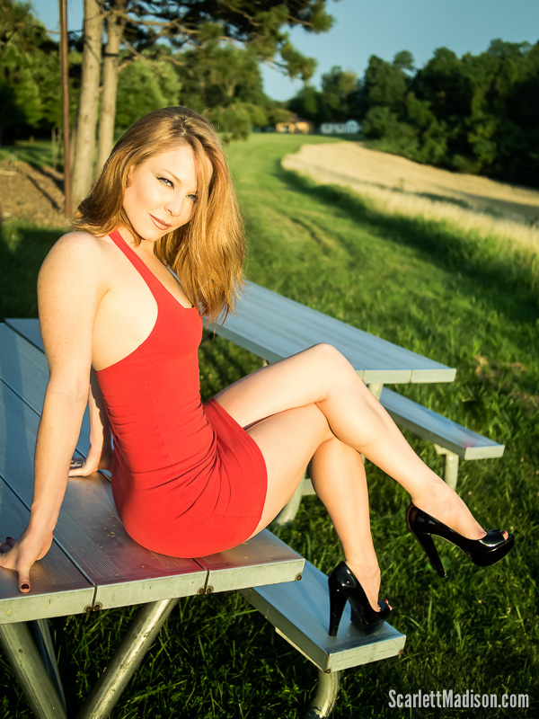 scarlett madison on a park bench.jpg