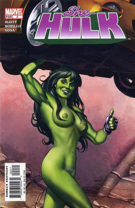 she hulk lifting a car while nude.jpg