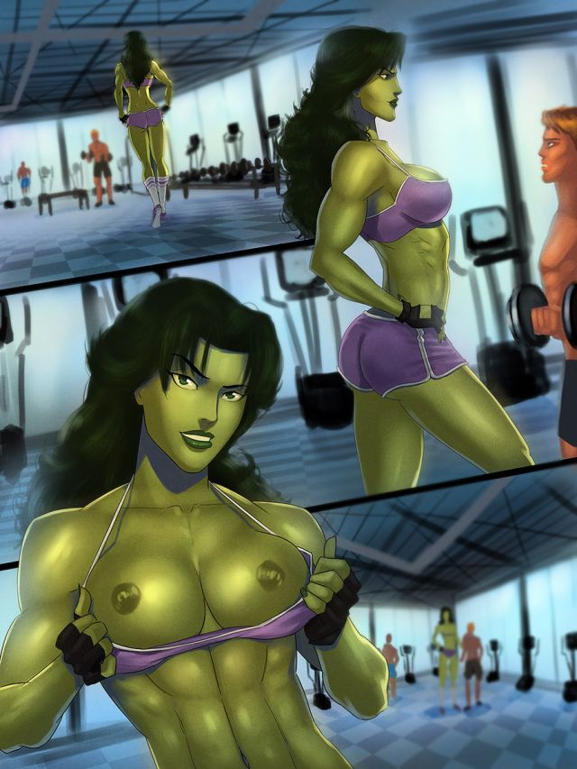 she hulk topless workout.jpg