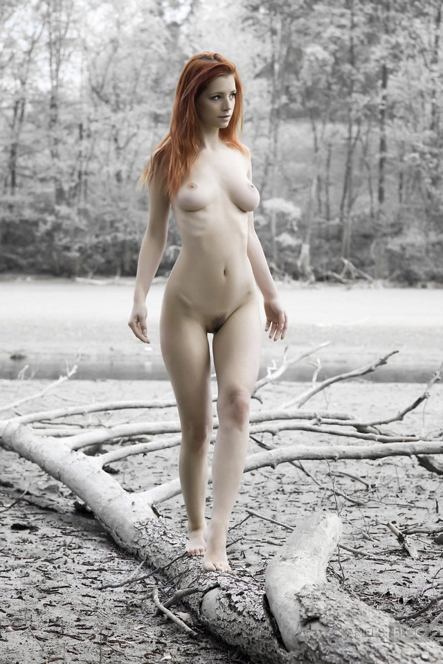red head in white forest.jpg