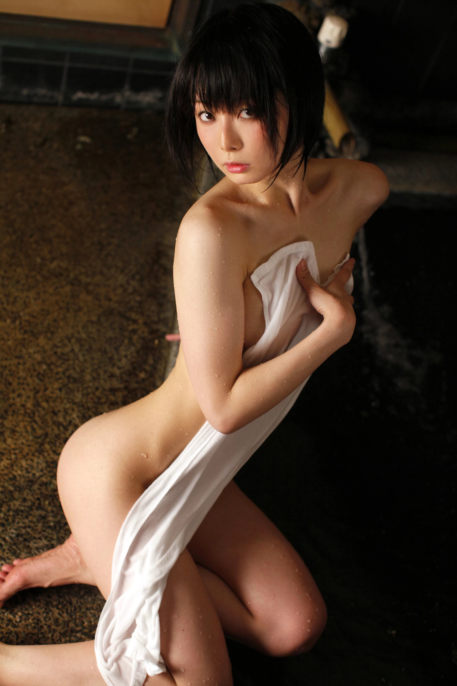 asian hiding her tits with a towel.jpg