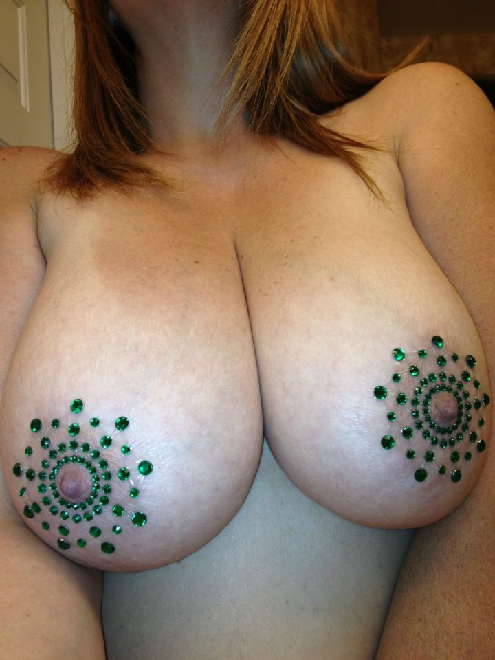 bedazzled nipples