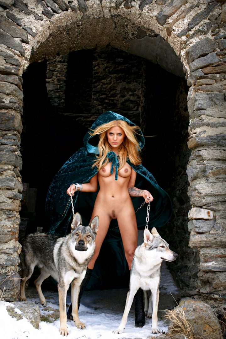 blue riding hood and her pet wolves.jpg