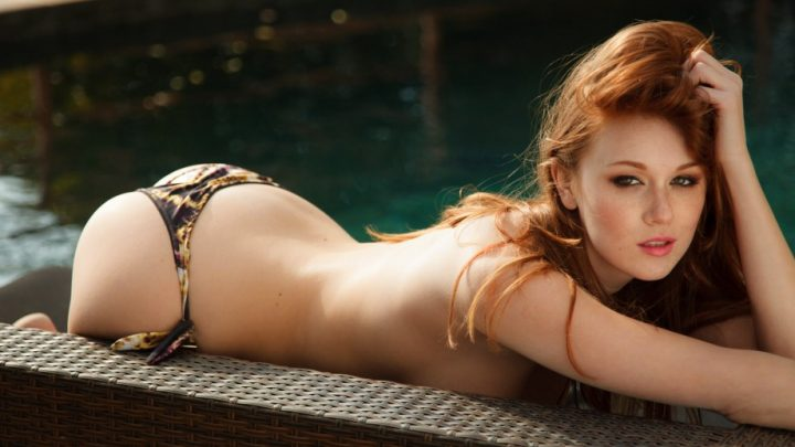 red head in bikini and no top.jpg