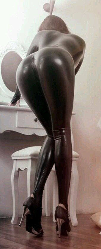 Latex heels tumblr