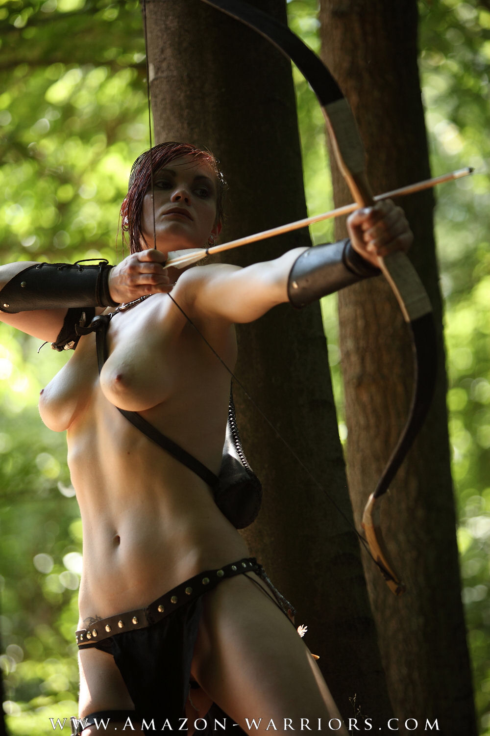 True Amazon warrior nude