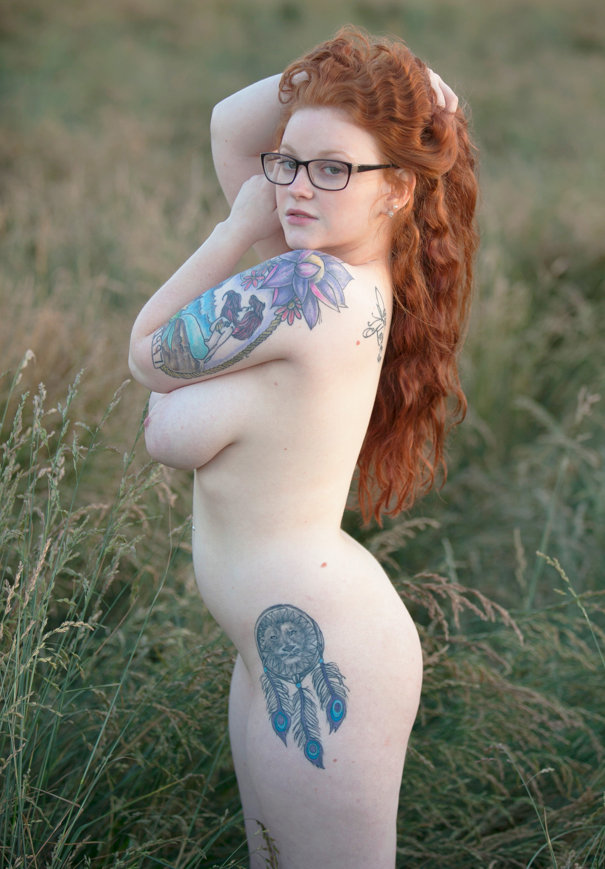 Red Head Inked