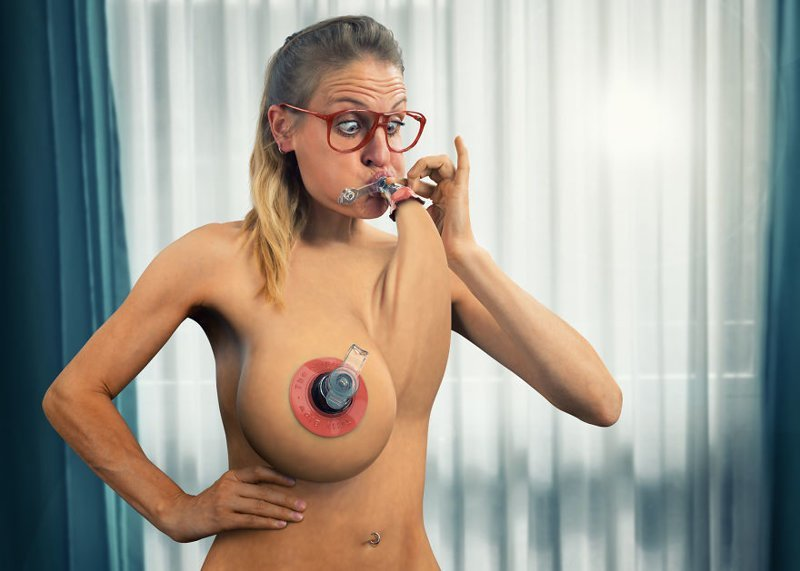 Inflatable Tits