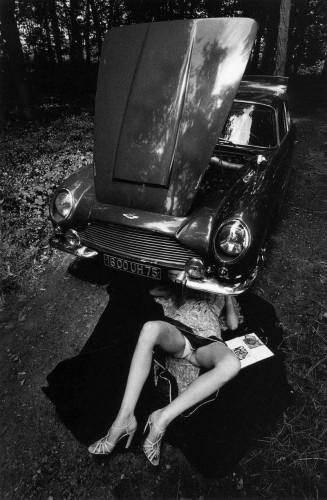 auto repair upskirt