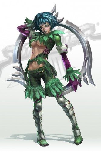 Soul Calibur III Tira by Artgerm