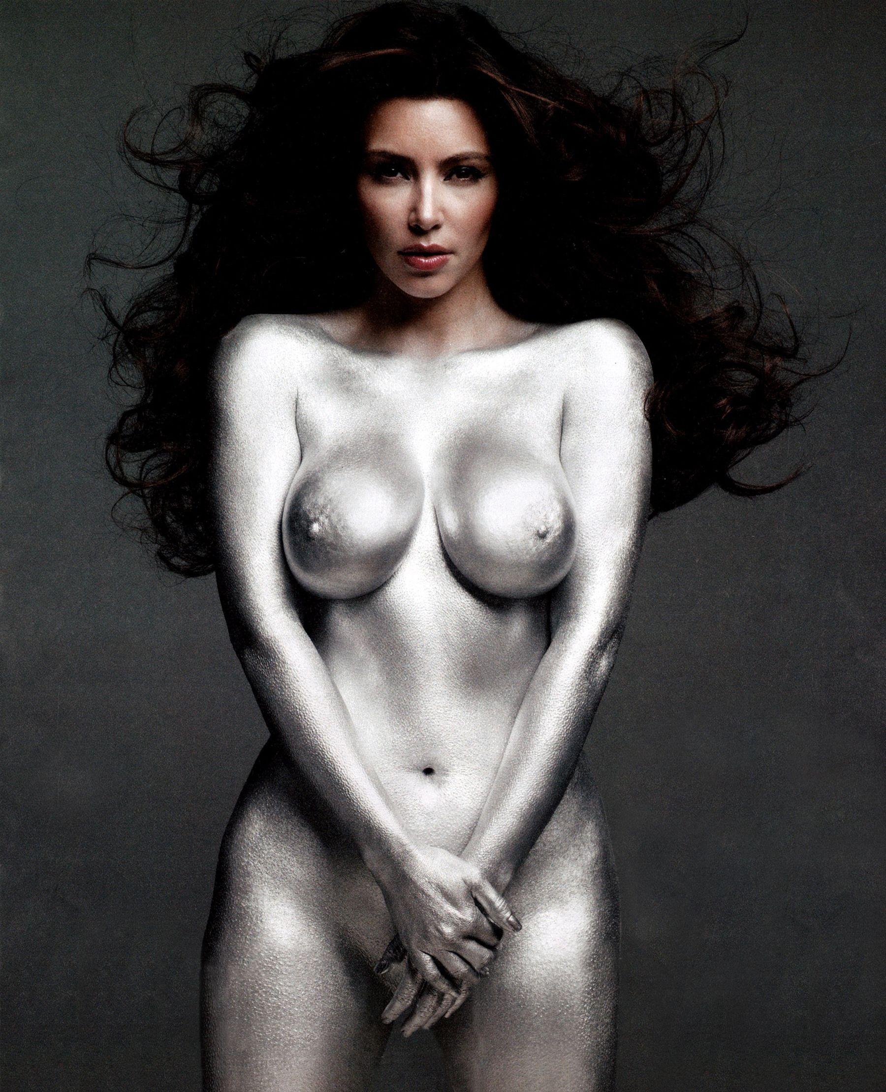 Kim Kardashian Nude W Magazine