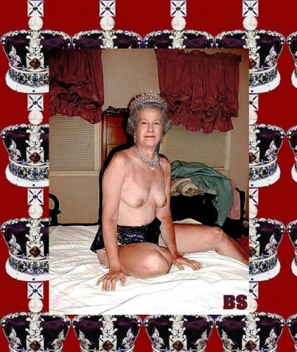 UK Queen Nude