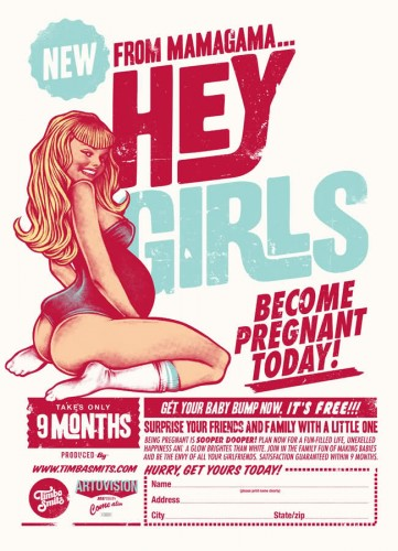 hey girls - become pregnant today