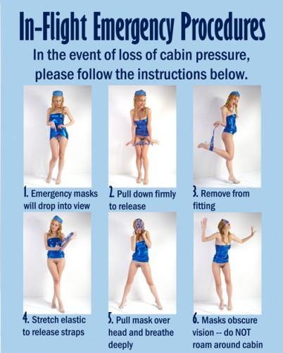 in-flight emergency procedures