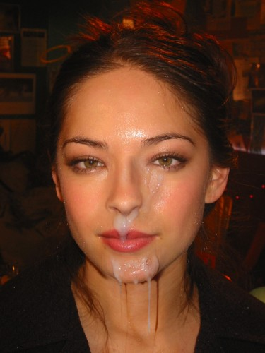 kristin kreuk - facial fake