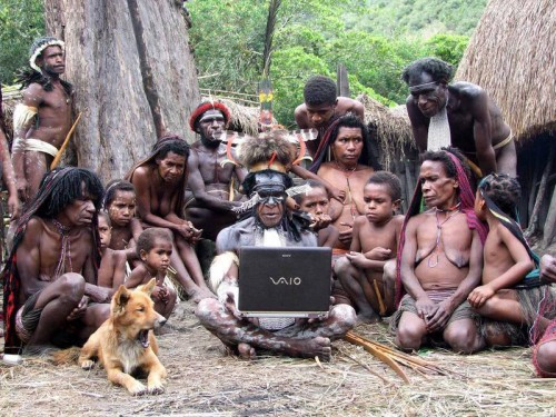 tribal laptop