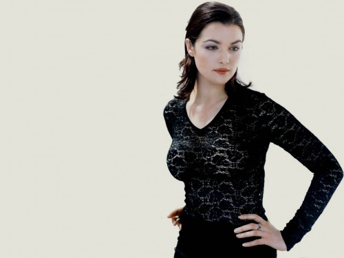 Rachel Weisz - see through shirt