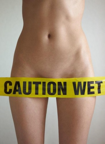caution wet
