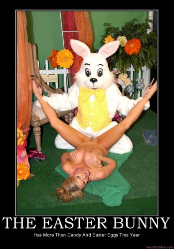 easter bunny - fuck