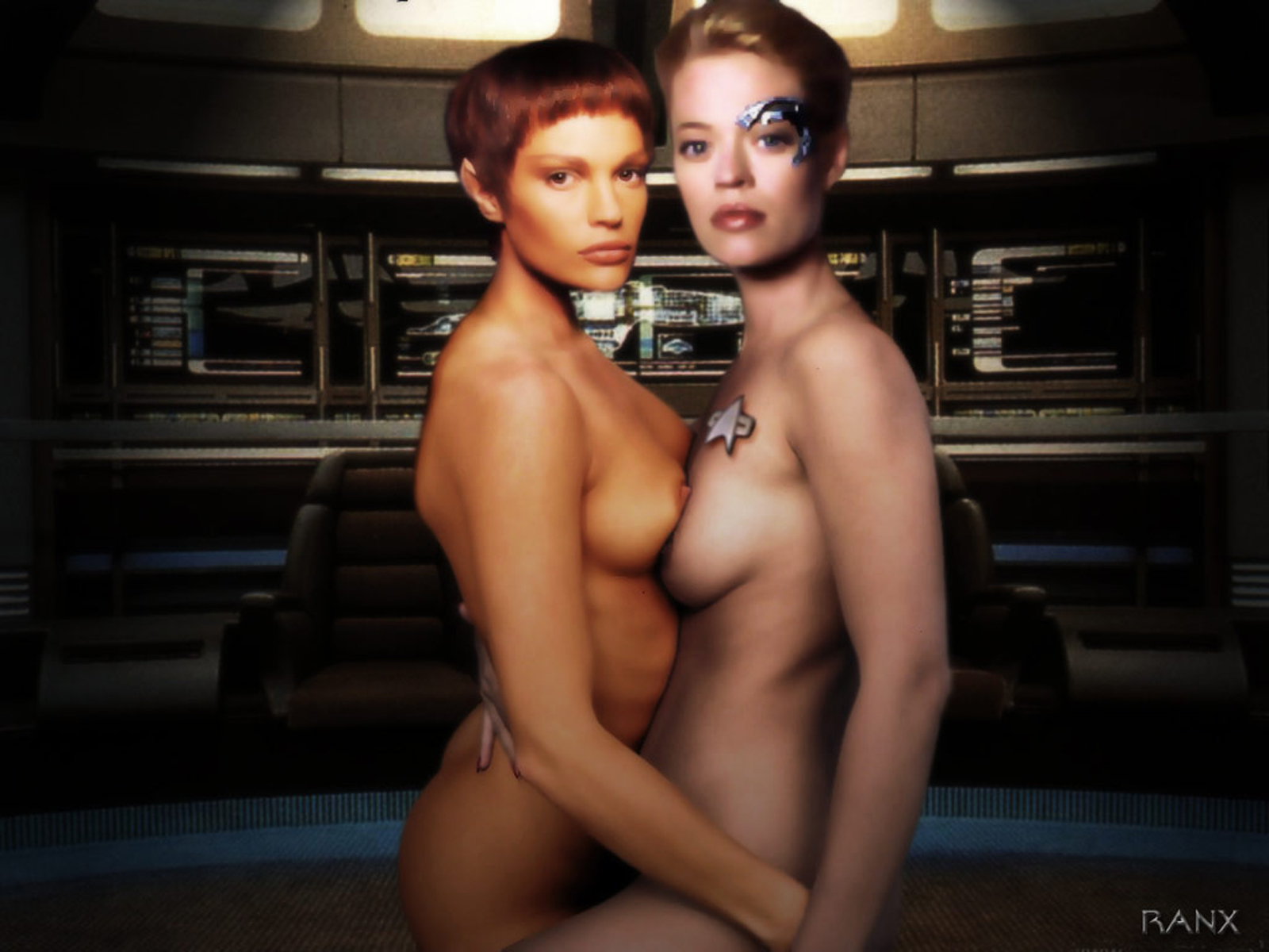 The Sexiest Star Trek Celebrities - Nude Scene