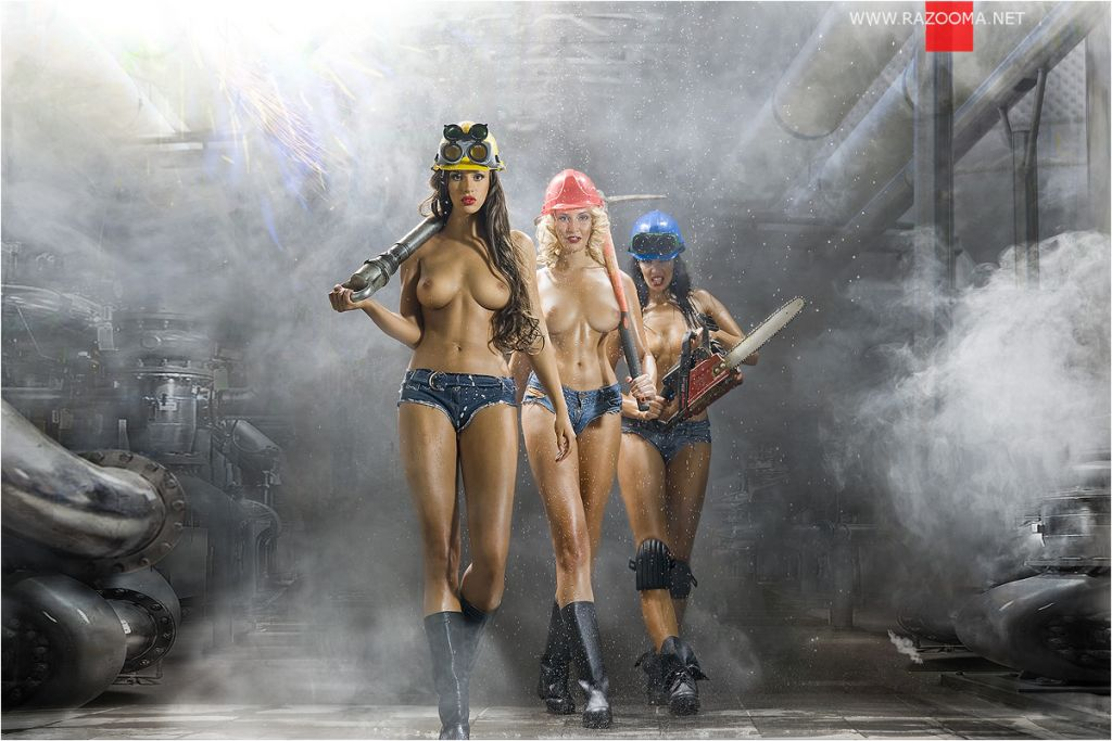 sexy contruction workers