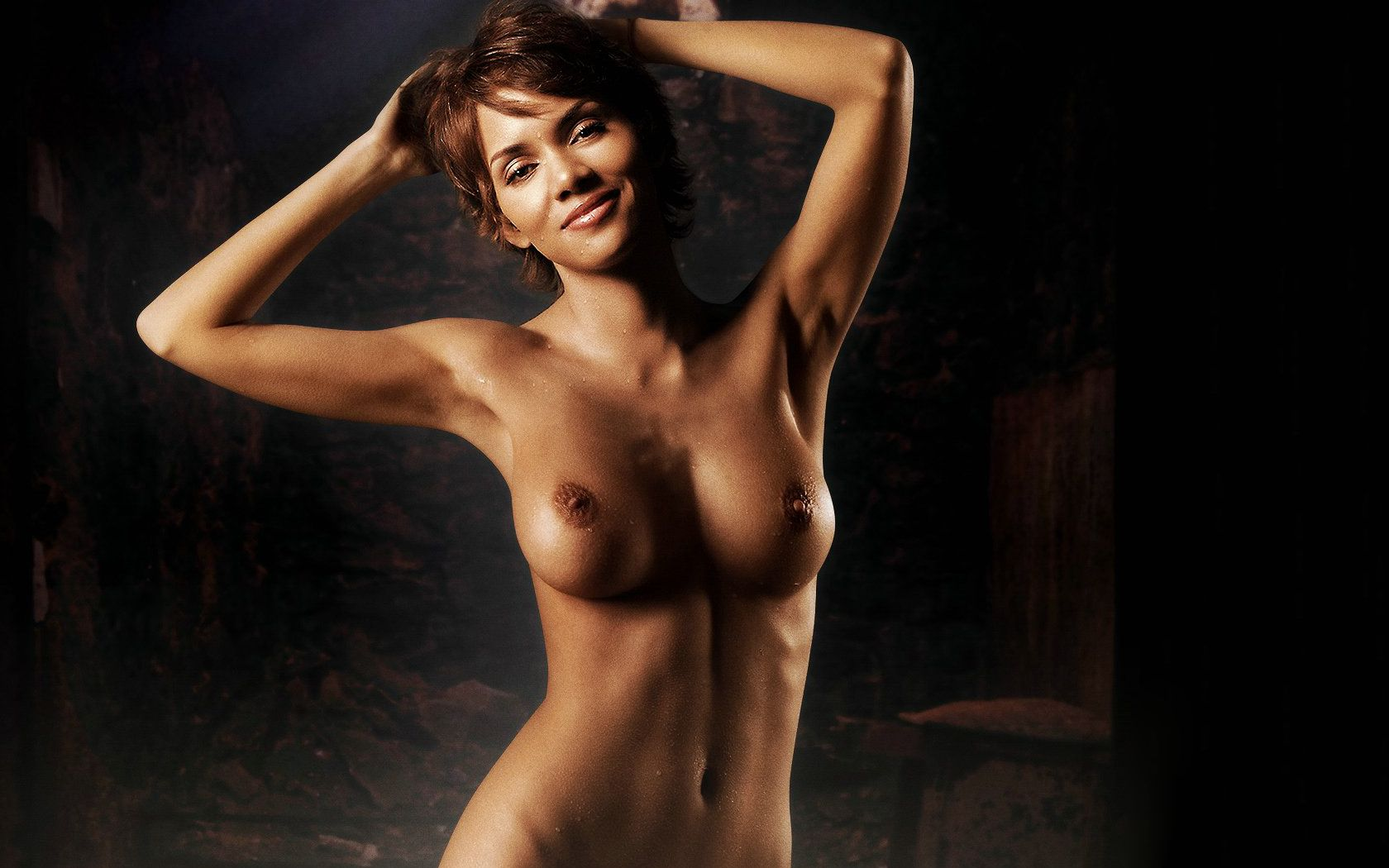 Not Halle berry nude fakes pity