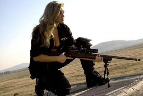 sexy fbi sniper