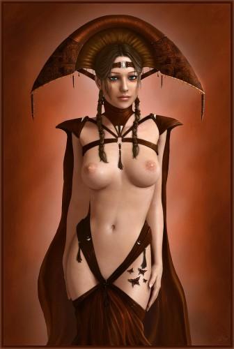 sexy sci-fi princess
