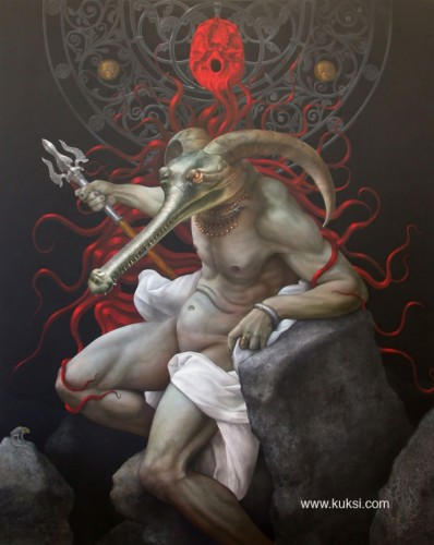throne of lucifer
