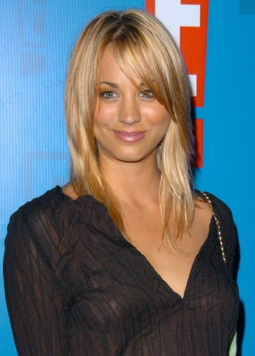 Kaley Cuoco see through celebrity tits (13)