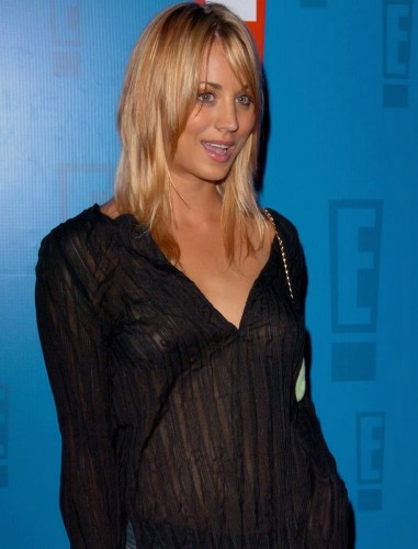 Kaley Cuoco see through celebrity tits (16)