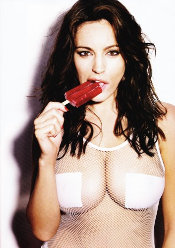 Kelly Brook - nipple patches