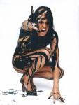 Michelle Rodriguez TheBigFixPromoPaint 3 113x150 Michelle Rodriguez   The Big Fix Promo   NUDE