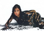 Michelle Rodriguez TheBigFixPromoPaint 4 150x108 Michelle Rodriguez   The Big Fix Promo   NUDE