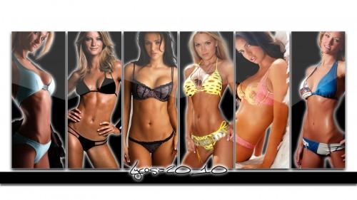 bikini spread