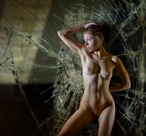 broken nude