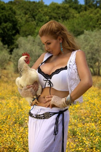 chick with a huge cock