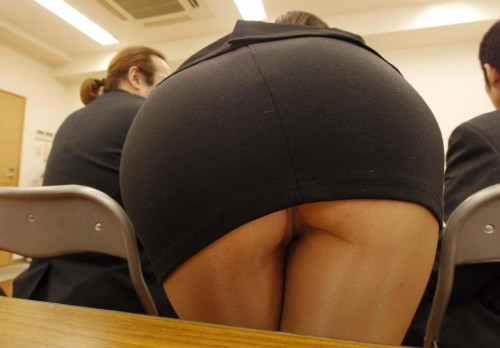 Not believe. Upskirt teacher no can not