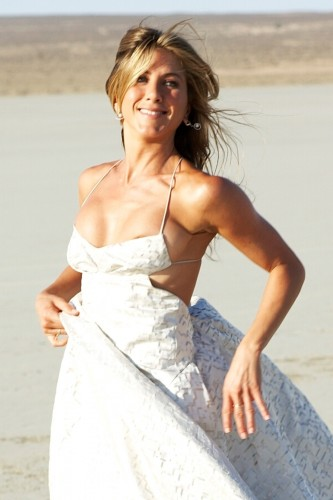 jennifer aniston - wedding dress nipslip