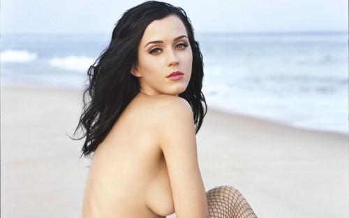 katy perry nude on a beach