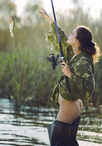 no pants fishing