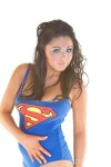 HollyRileySupermanCosmid6 100x150 Holly Riley in a Superman Swimsuit