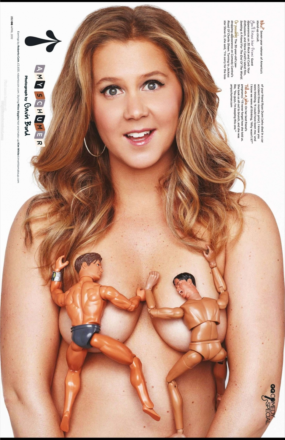Amy Schumer topless