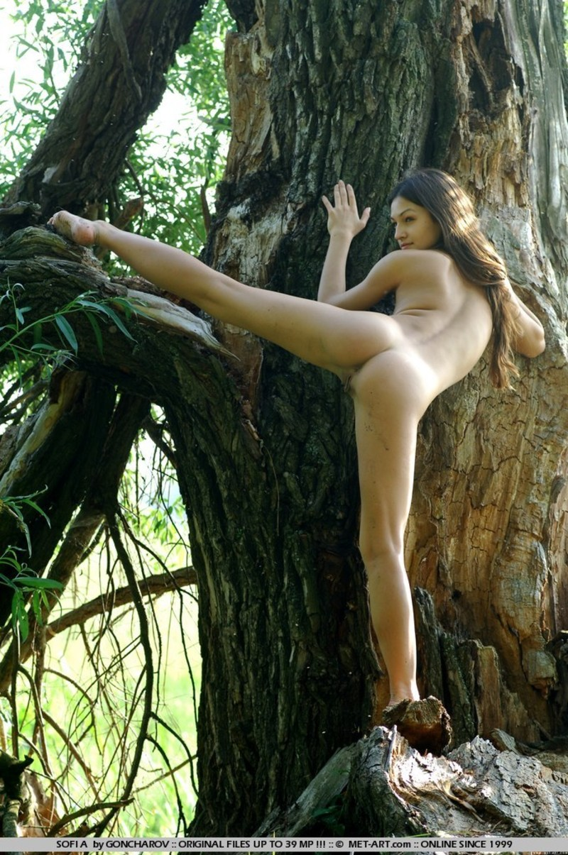 Naked in the swamp erotic video