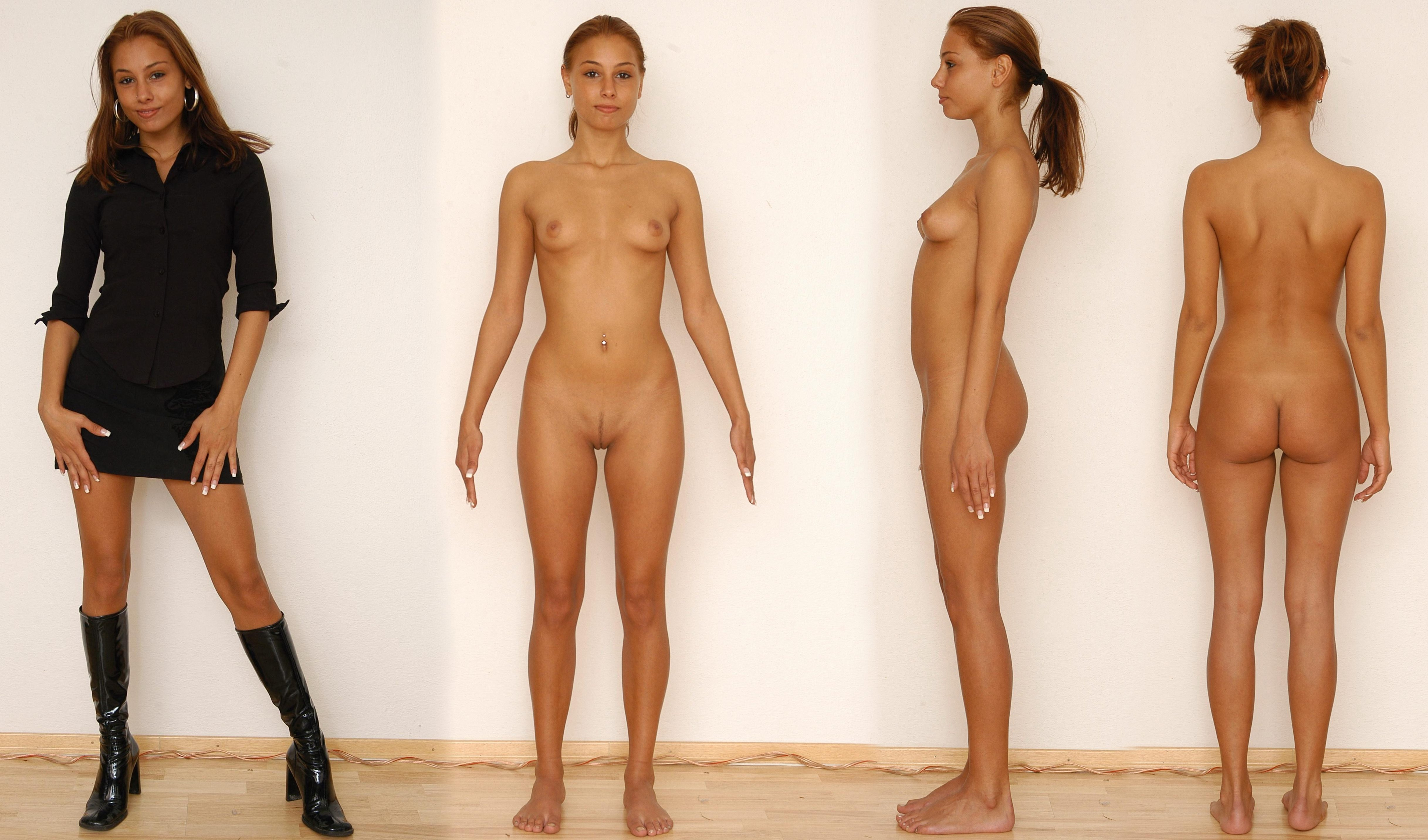 hot girls nud clothed