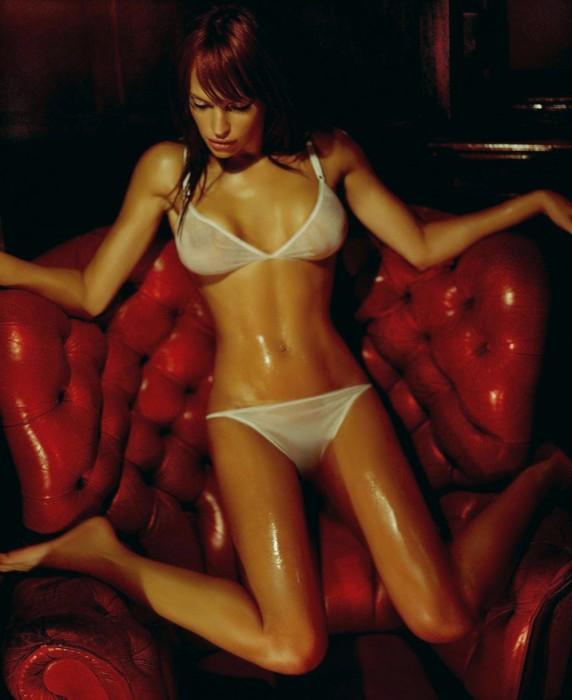 jolene blalack - see through underwear - red chair.jpg