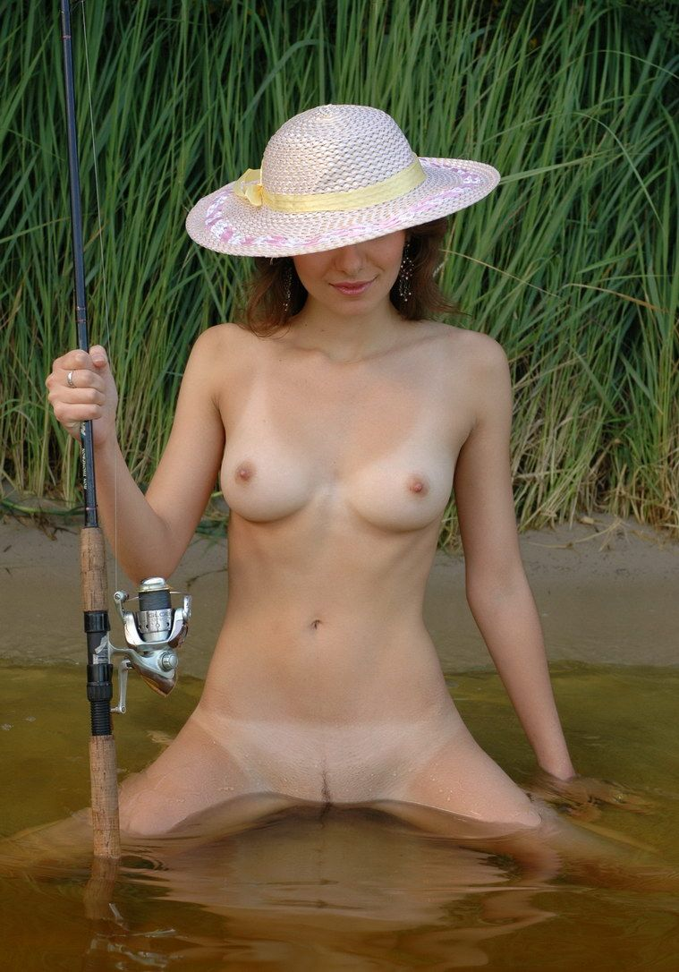 Nude fly fishing
